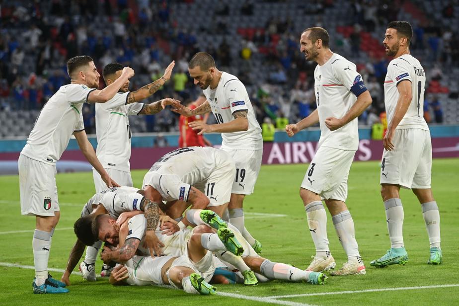 Italie-Espagne en demi-finale, encore raté pour la Belgique