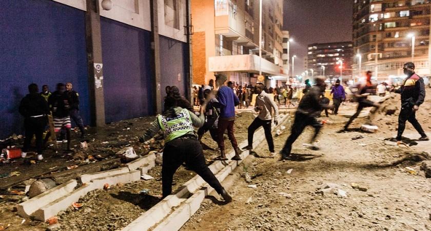Pillages et incendies en Afrique du Sud : Désastre économique