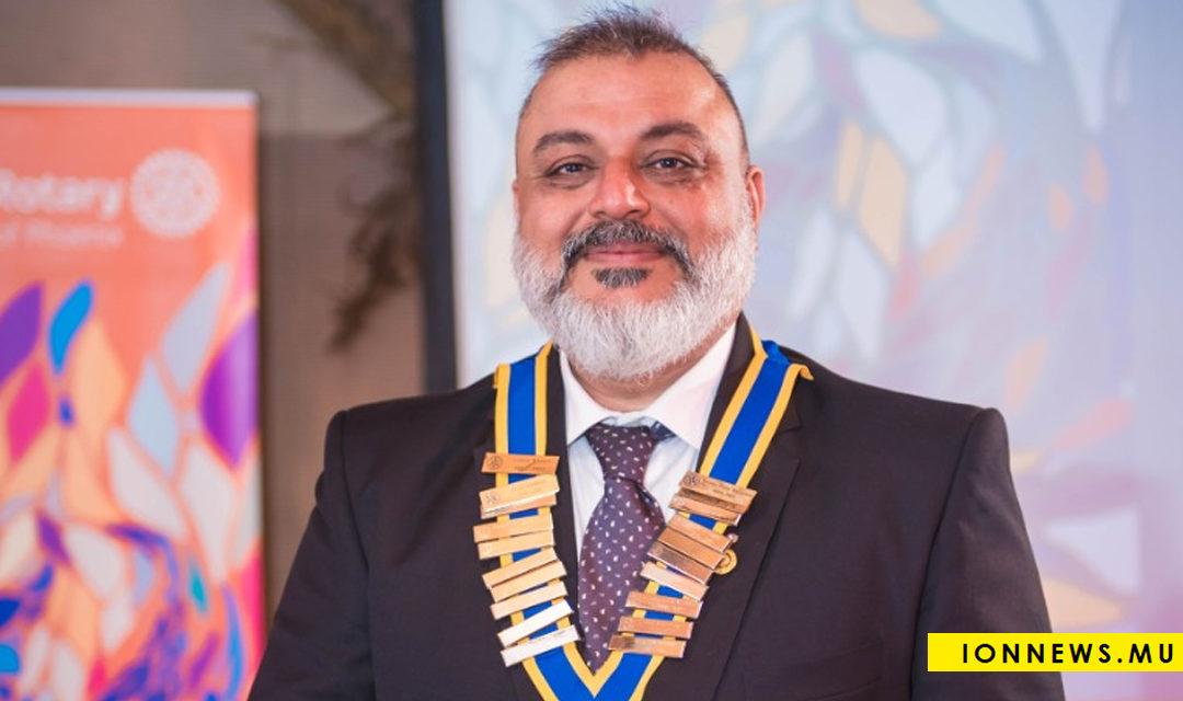 Samir Khatri, nommé président du Rotary Club de Phoenix