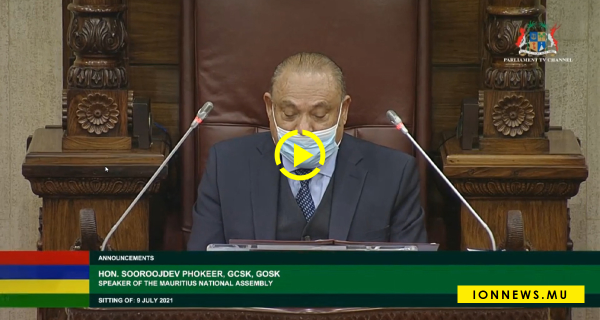 Le speaker: What are you talking about...look at your face, look at your face...
