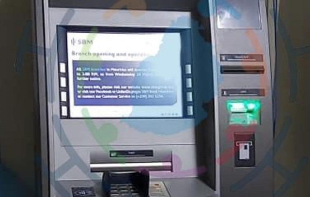 SBM : Installation d'un ATM mobile à Bois-Chéri