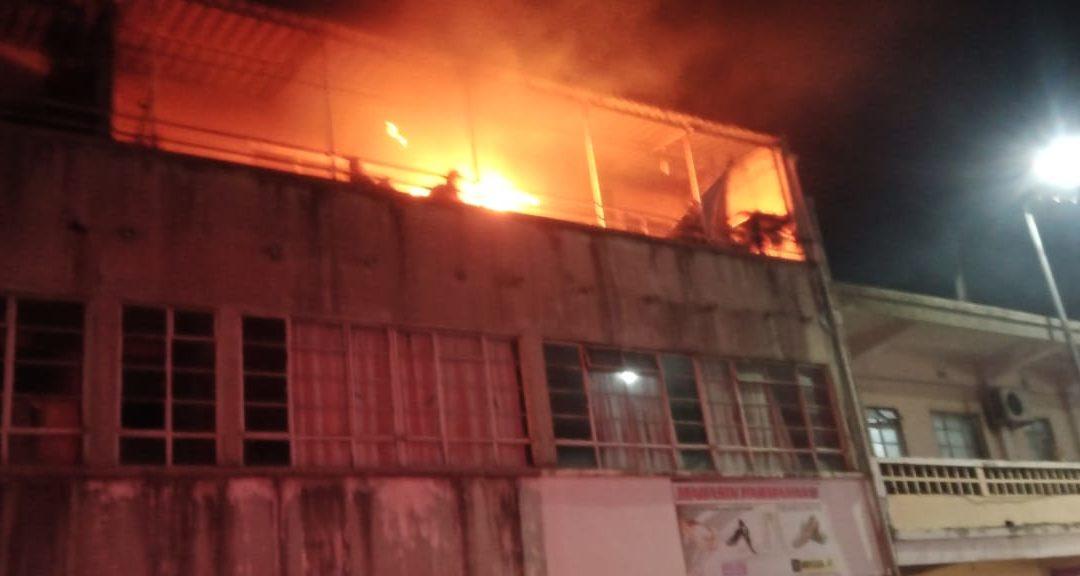 Un réchaud cause un incendie à la rue Desforges