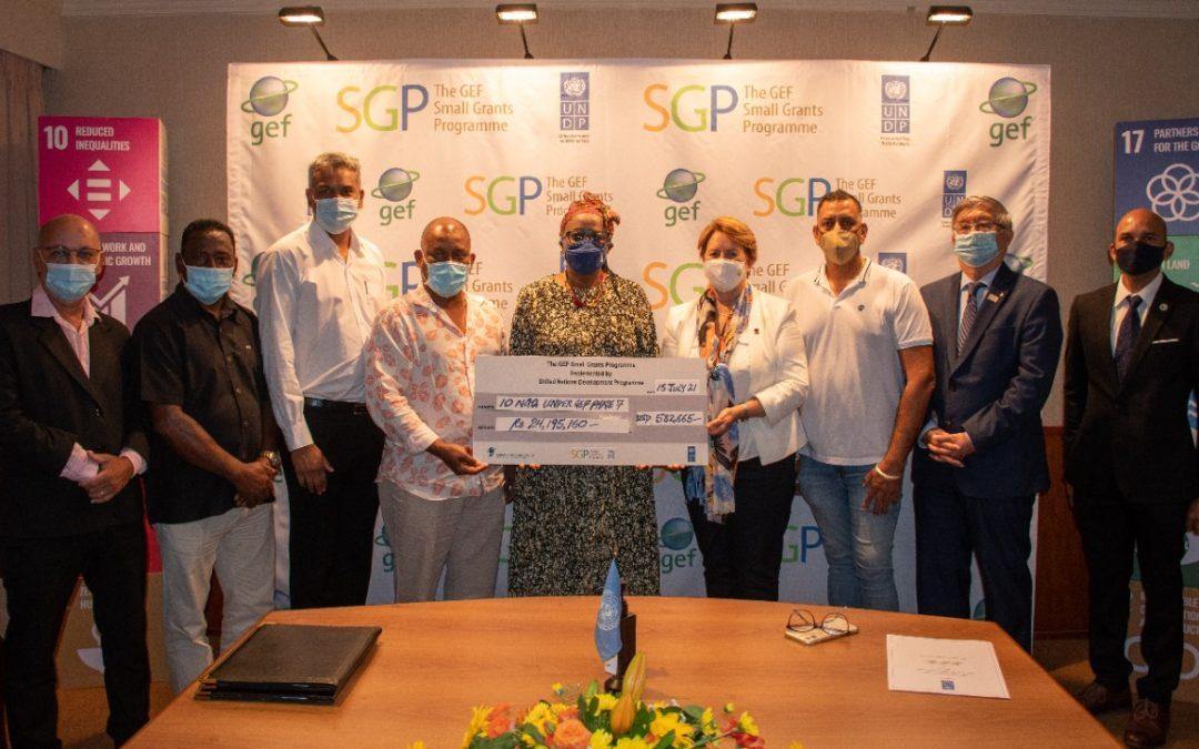 Le GEF Small Grants Programme UNDP soutient 10 projets de développement durable à Maurice et à Rodrigues