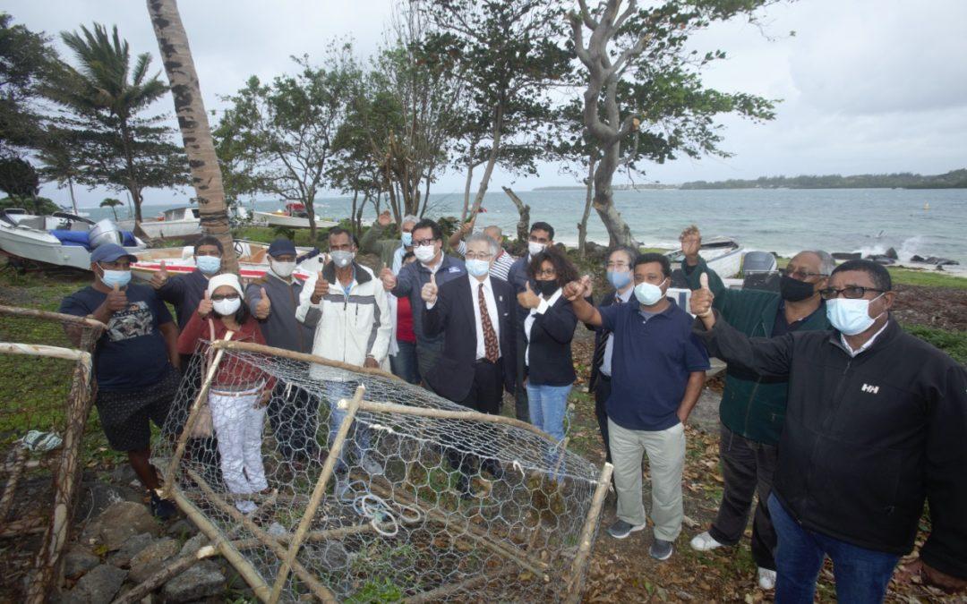 MOL (Mauritius) Ltd s'associe à Caritas pour soutenir des pêcheurs du Sud-Est