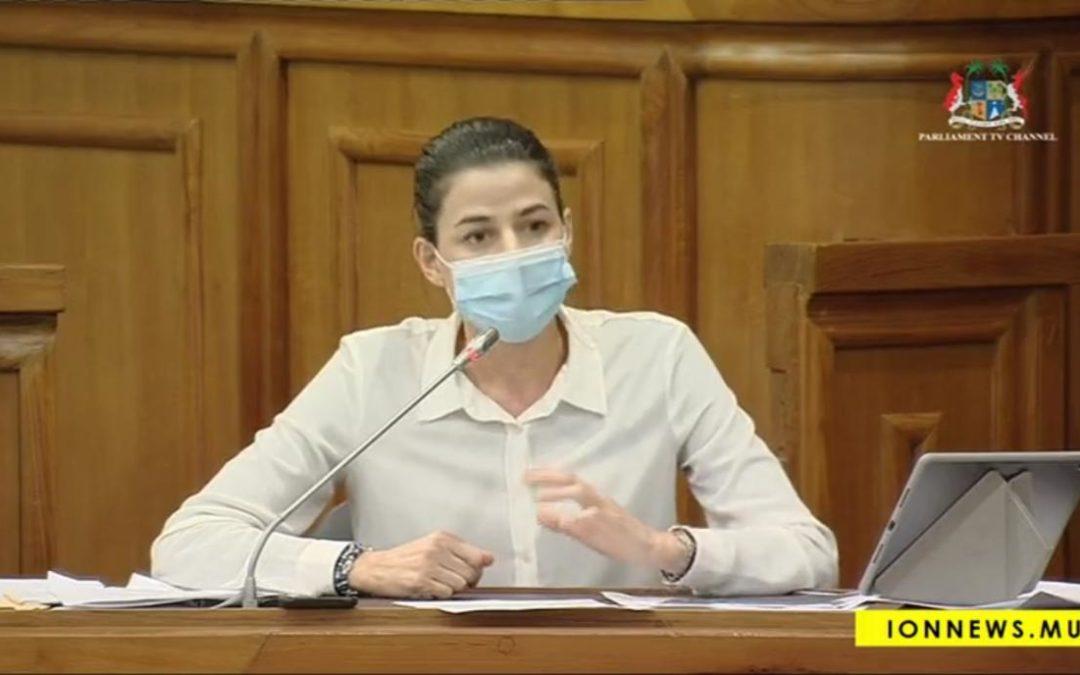 """[Finance Bill] Joanna Bérenger : """"La protection des mangroves n'a pas été considérée par le ministère de tutelle"""""""