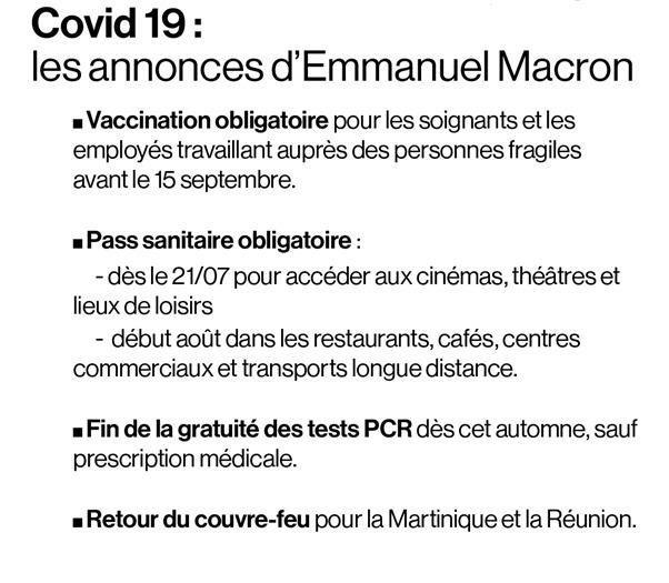Plus de 900 000 Français ont pris rendez-vous pour se faire vacciner après les annonces d'Emmanuel Macron