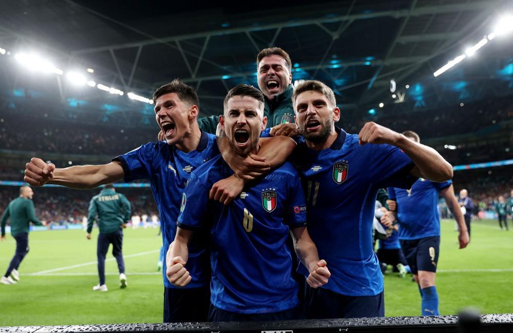 Euro : Southgate : « L'Italie est dans une dynamique incroyable avec des guerriers en défense »