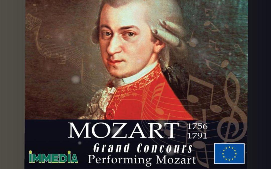 Les inscriptions pour le Grand Concours Performing Mozart ouvertes