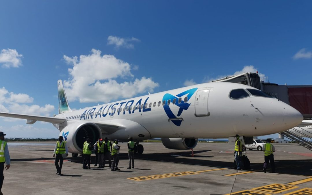 L'île Maurice a accueilli pour la première fois l'A220-300 d'Air Austral