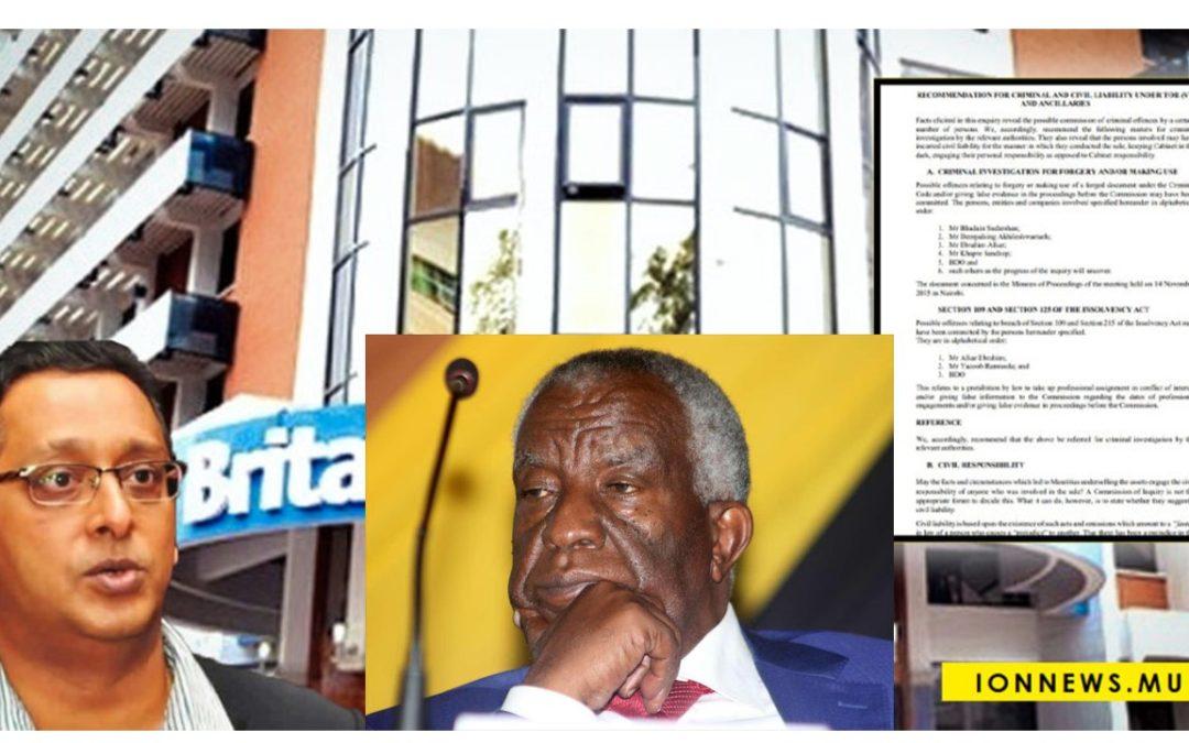 Rapport Domah : Peter Munga aurait déjoué tous les gros cerveaux mauriciens