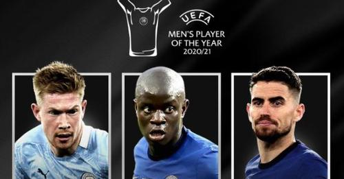 La liste des nommés pour le meilleur joueur de l'année sans Messi