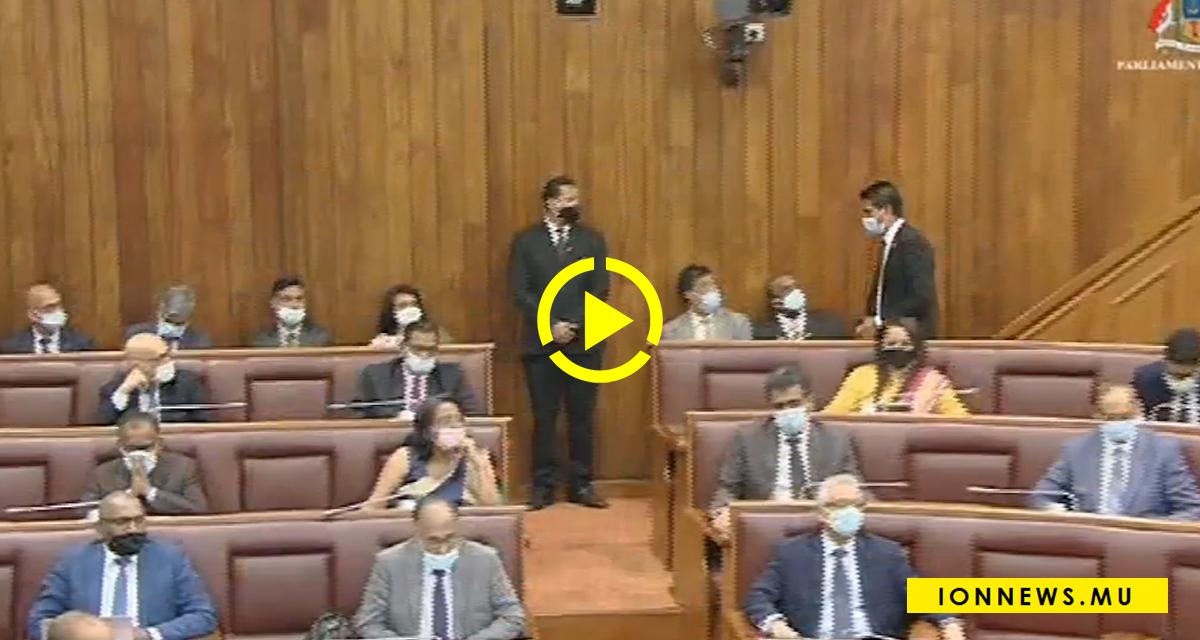 Le député Dhunoo sommé de quitter l'assemblée pour avoir causé des perturbations