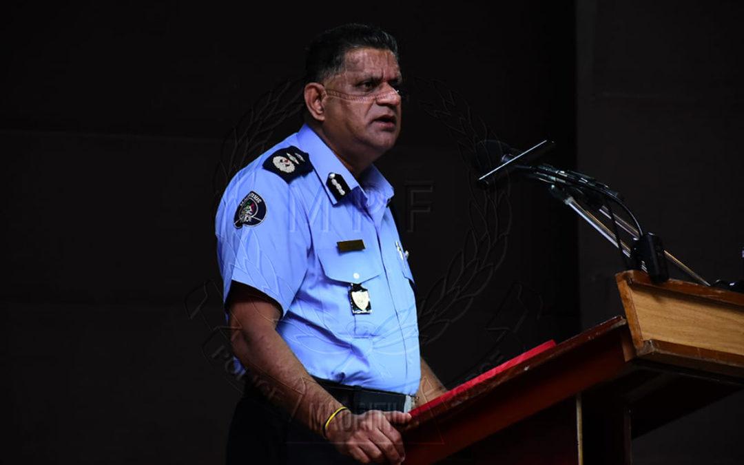 Le commissaire de Police : Un besoin impérieux d'imposer plus de discipline à tous les niveaux
