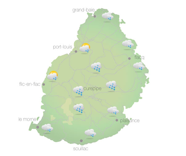 Météo : Des averses attendues à l'Est, au Nord et sur les terrains élevés
