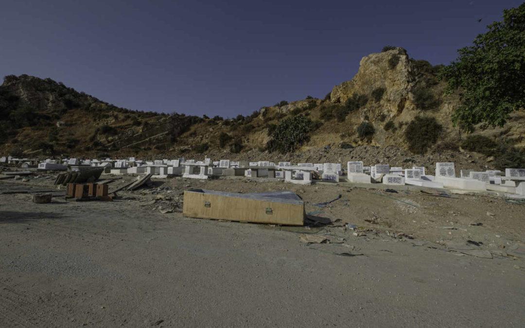 """A Tunis, on enterre à la chaîne les morts du Covid-19 : """"Le cimetière est saturé"""""""