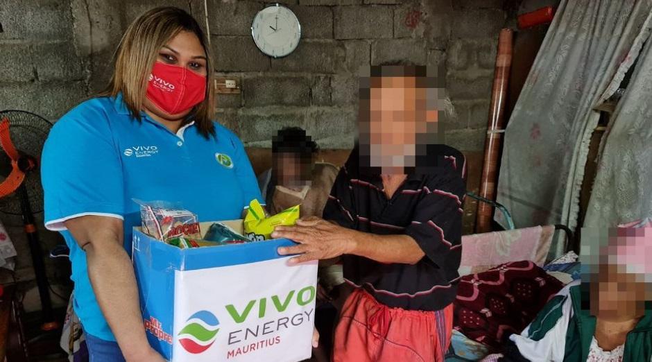 Vivo Energy Mauritius : Contribution personnelle des employés en faveur de Roche-Bois