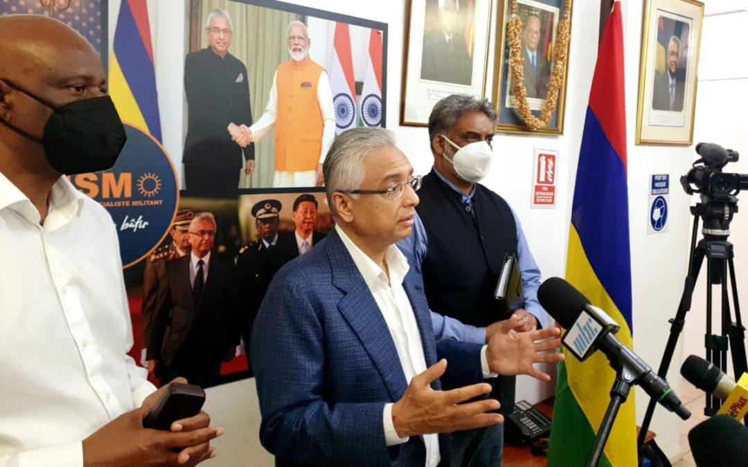 Bureau politique du MSM : Maneesh Gobin nommé Secrétaire général