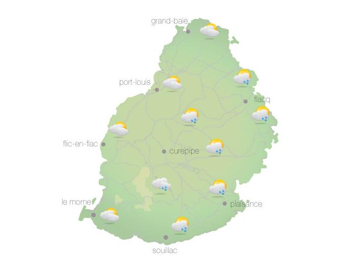 Météo : Quelques ondées attendues ce matin
