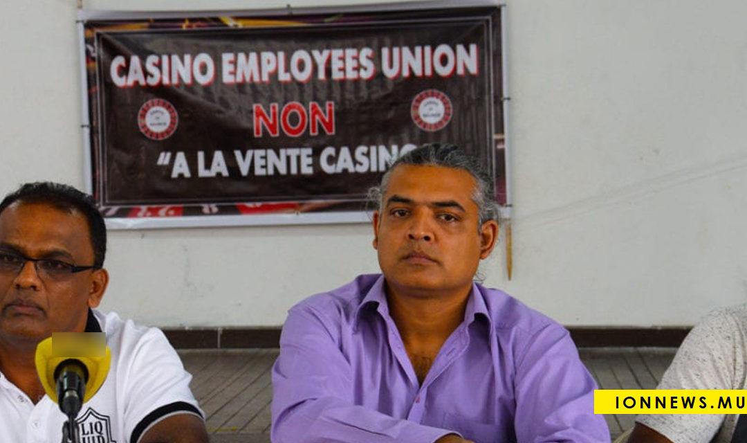 Le vice-président du Casino Employees Union: « Sa gouvernement la li sourd, li aveugle »