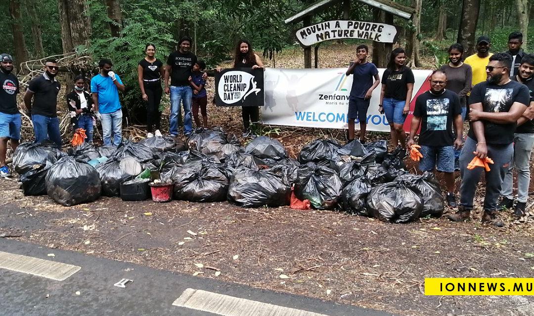 ZenfanvilaZ participe au World Cleanup Day