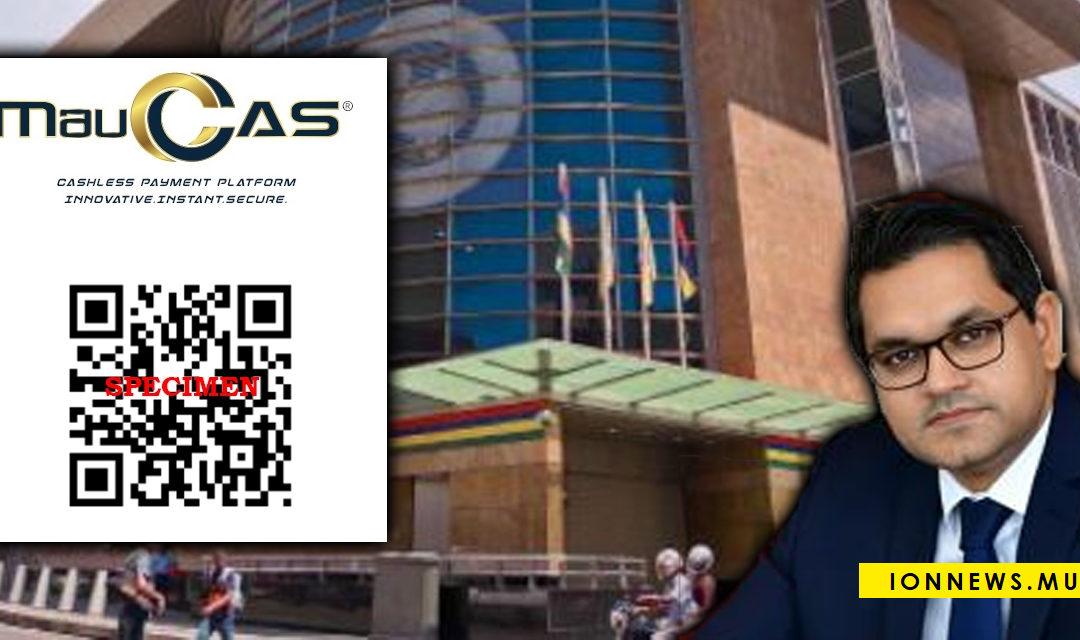 [QR Code MauCAS] Harvesh Seegolam : « C'est une nouvelle étape dans la modernisation et la démocratisation de notre système de paiement »