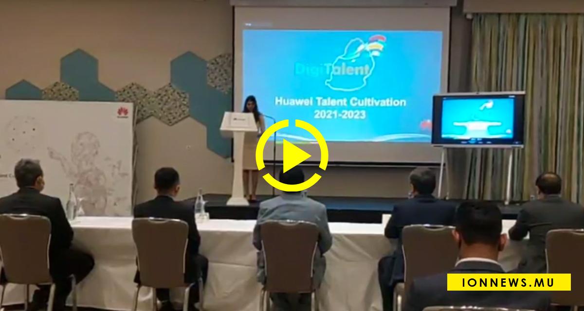 Le lancement de 'DigiTalent' de Huawei à Hennessy Park Hotel
