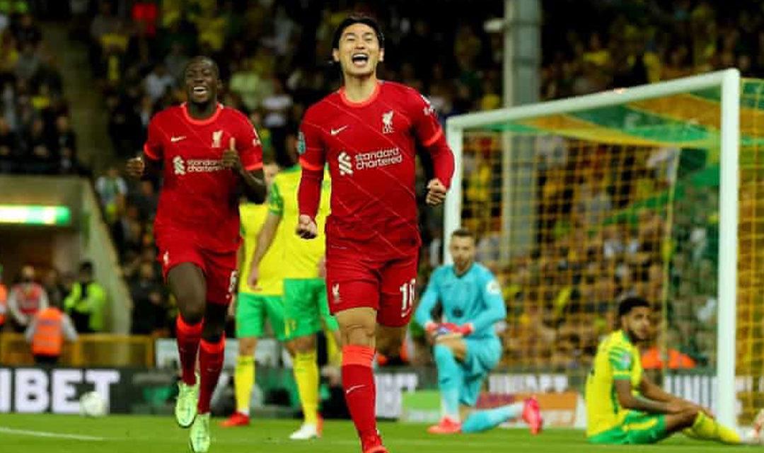 Manchester City et Liverpool qualifiés pour les huitièmes de finale de League Cup, Everton éliminé