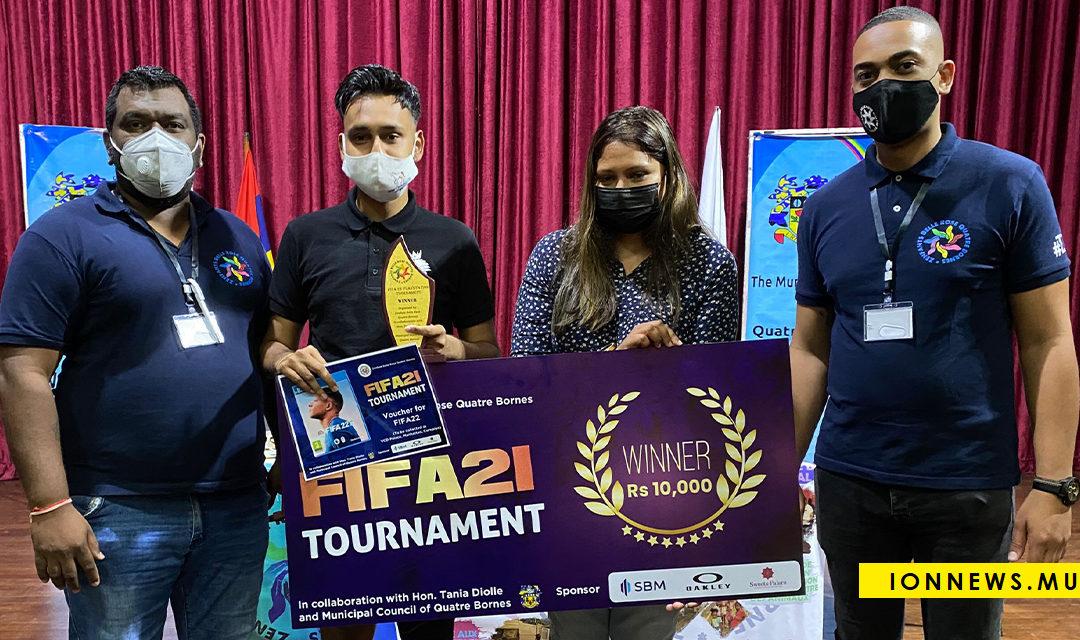 [Tournoi FIFA 21 sur la PlayStation 4] Mehgraj  Veeriah remporte la grande finale