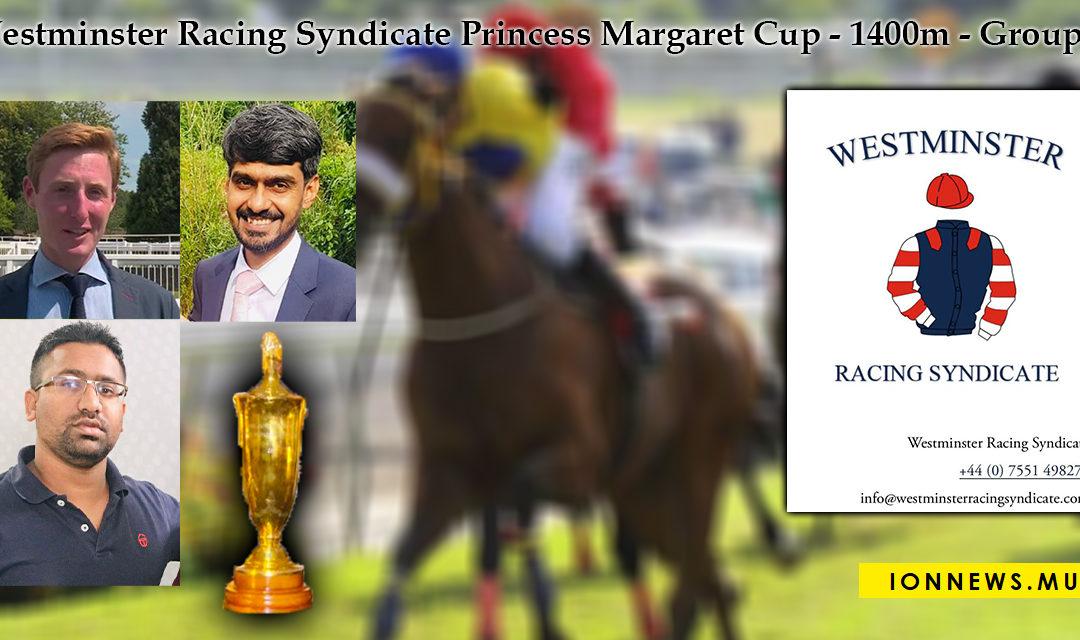Le Westminster Racing Syndicate sponsorise la Princess Margaret Cup, ce dimanche