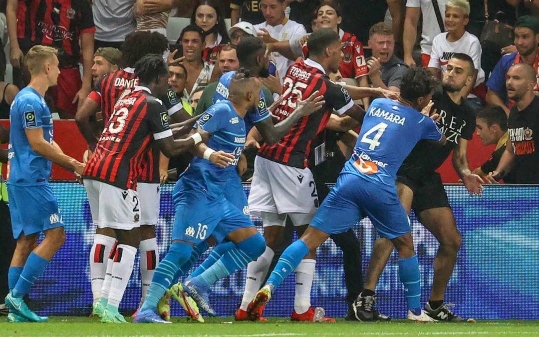Incidents lors de Nice-Marseille : le match sera rejoué à huis clos, un point ferme de pénalité pour le club niçois