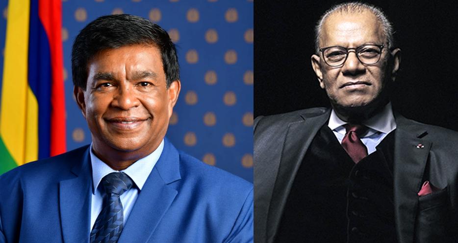 Le président de la République souhaite un bon rétablissement à Navin Ramgoolam
