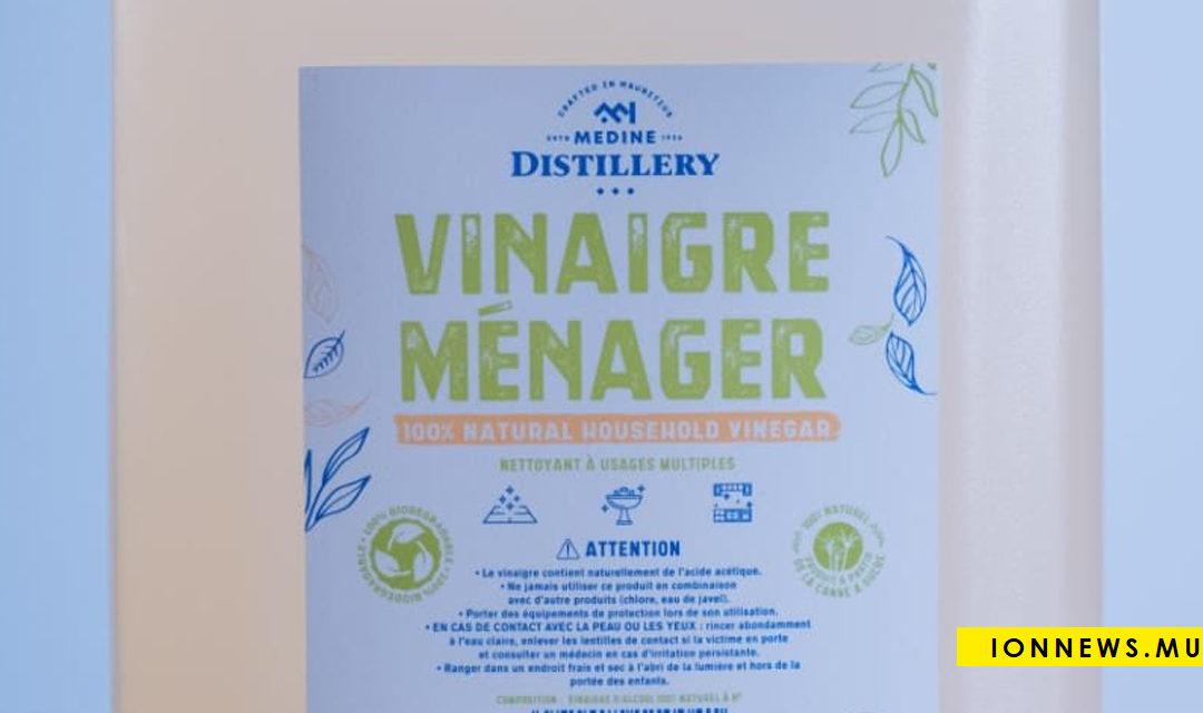 Le Vinaigre Ménager de Medine Distillery, un nouveau nettoyant multi-usage