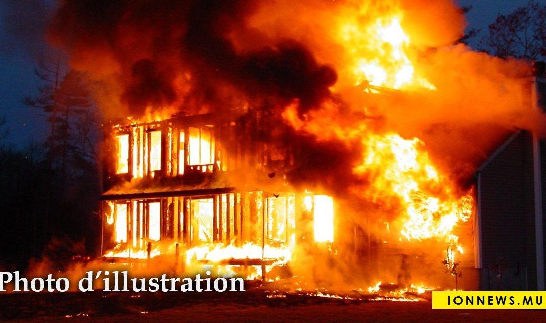 Hermitage : Une maison en proie aux flammes, ce jeudi