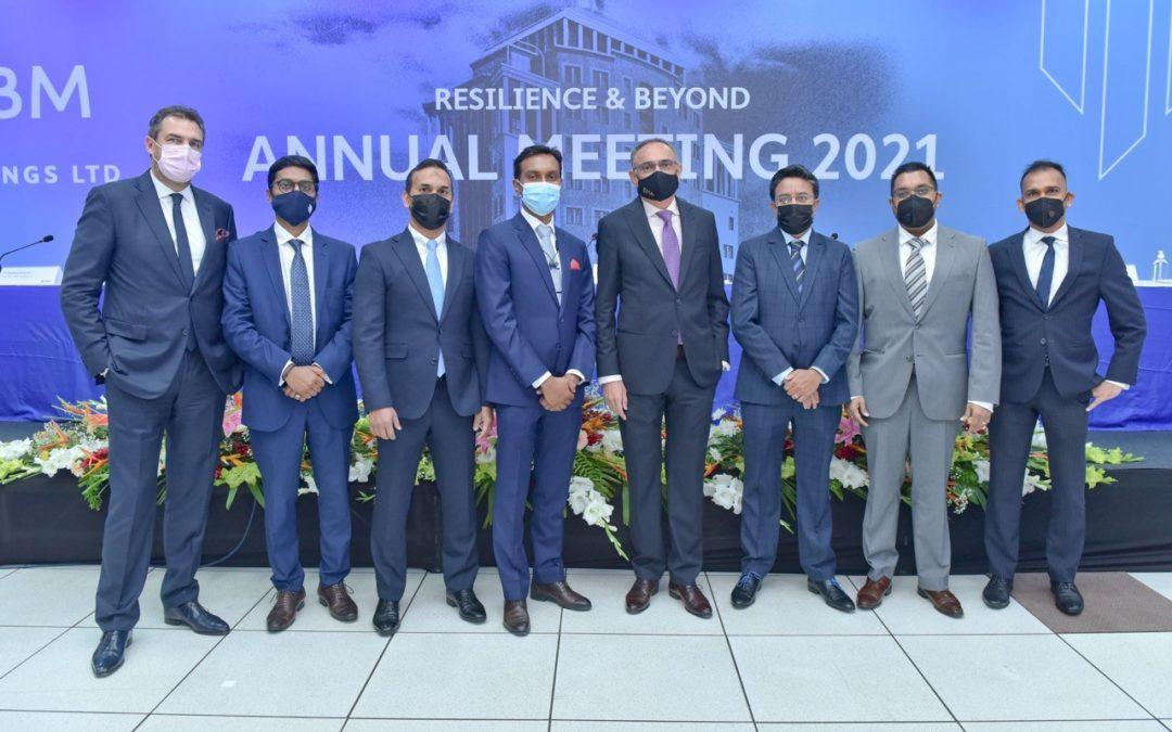 SBM : Assemblée générale annuelle – Nouveaux professionnels au sein de l'équipe de direction
