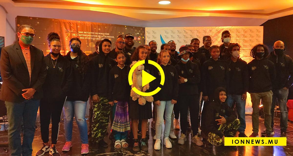Présentation des finalistes de 'Zenes montre To Talan 2021' à Côte d'Or National Sports Complex