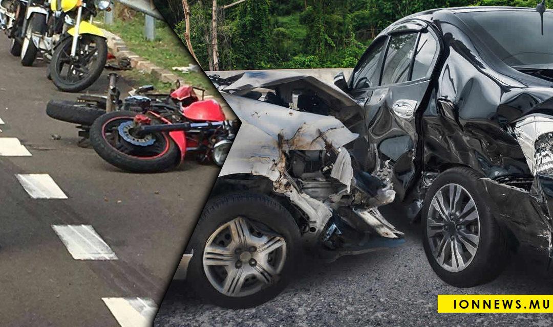 Depuis le début de l'année : 58 % des accidents fatals concernent les deux-roues
