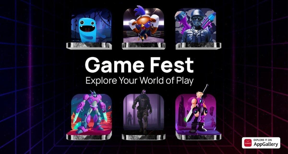 Succès des applications 'gaming' sur l'AppGallery pendant la campagne mondiale Game Fest