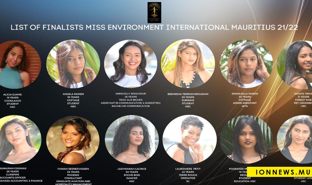 Miss Environment International Mauritius : Les finalistes se rapprochent de la nature
