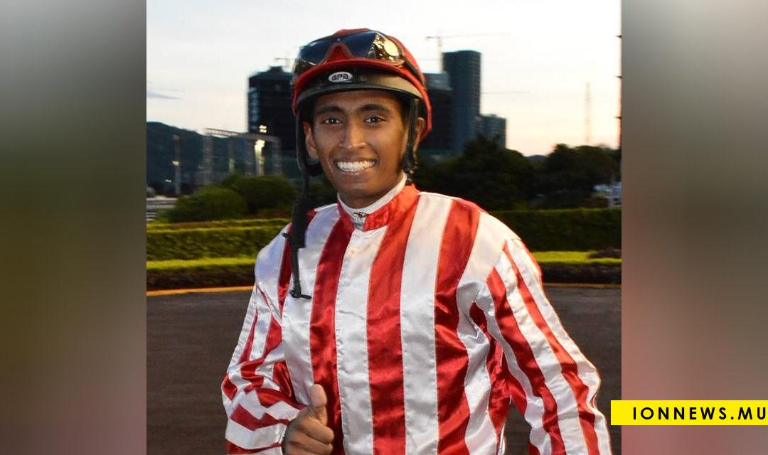 Akash Aucharuz suspendu pour deux journées de course