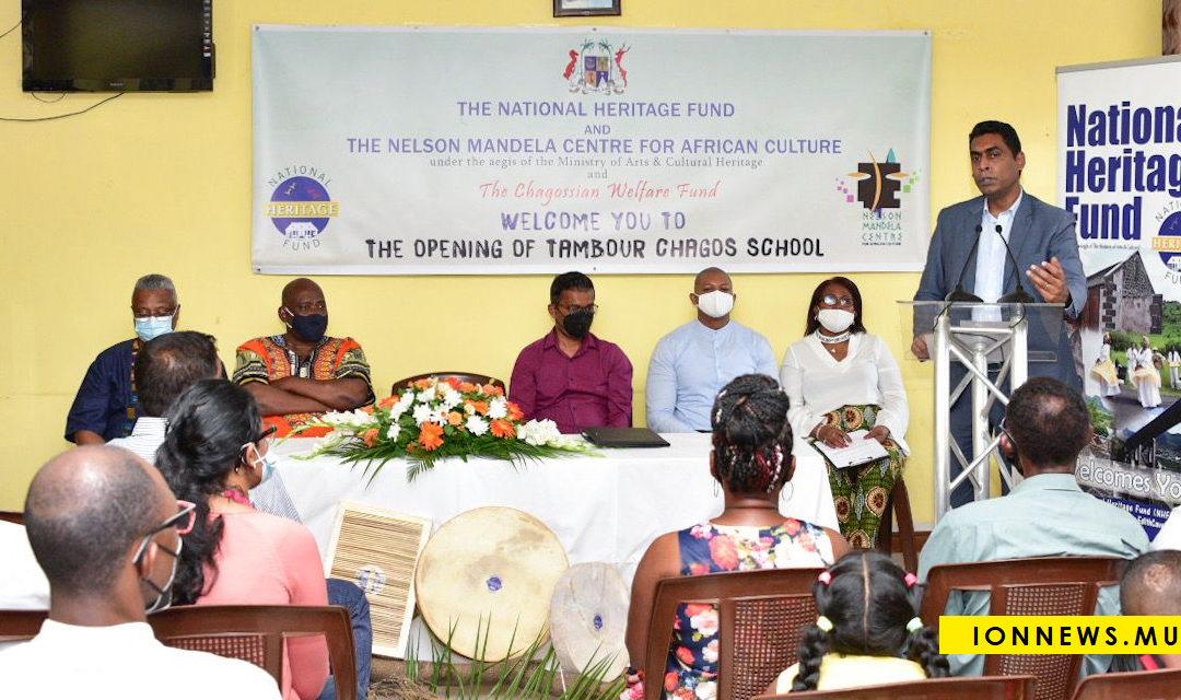 Patrimoine : Deux écoles dédiées au séga tambour des Chagos