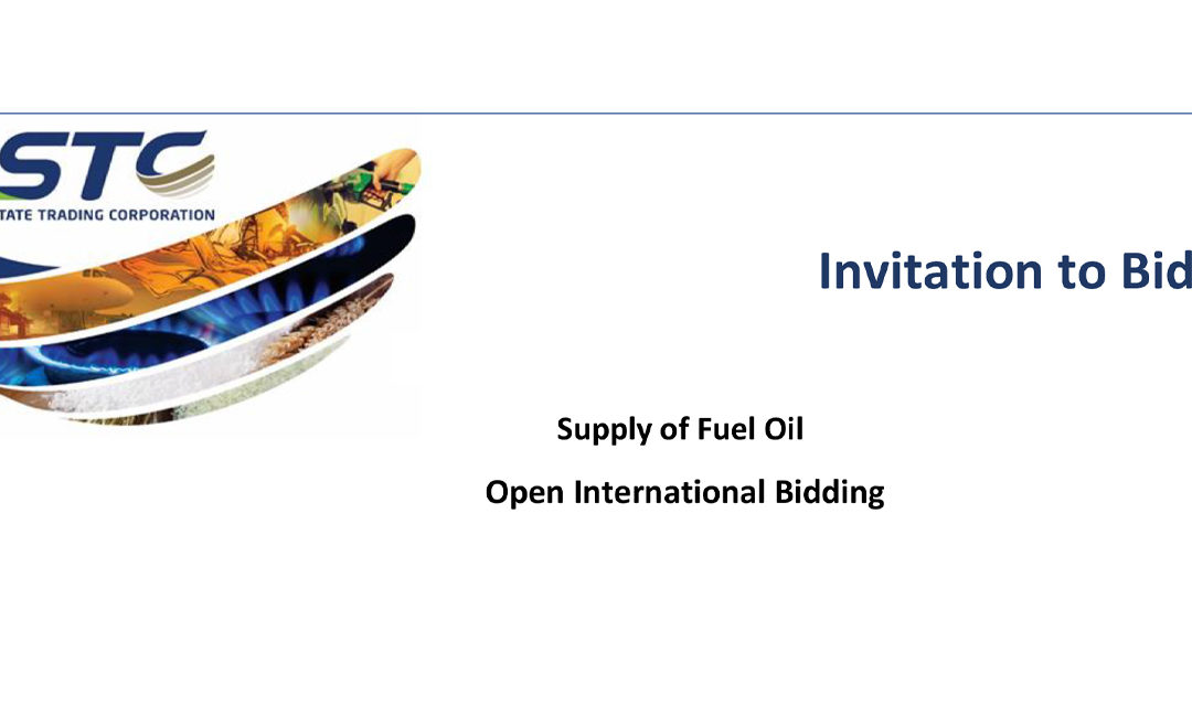 Invitation for bids: Supply of Fuel Oil