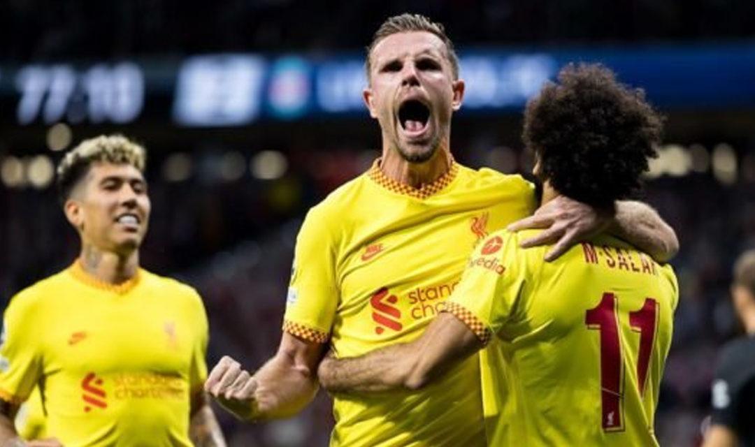 Liverpool s'offre l'Atlético de Madrid en Ligue des champions