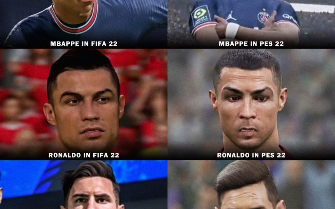 FIFA vs PES: eFootball, successeur de PES, sujet aux moqueries sur les réseaux